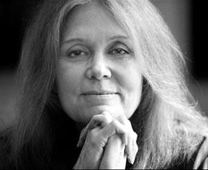 Gloria Steinem in Delhi