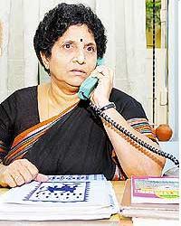 Bhumika Help Line, Kodaveeti Satyavathi